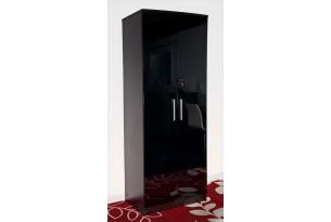 Chester Wardrobe 2 door (black)