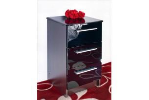 Chester Bedside Cabinet (Black)