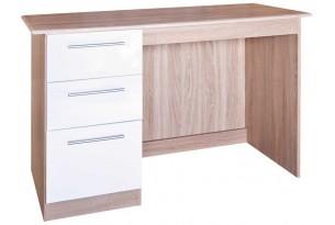 Chester Dresser   (White on Oak)