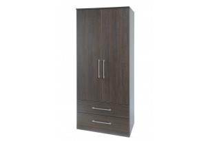 Havana Gents2 Door 2 Drawer Wardrobe  wenge
