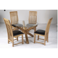 Oporto Table &  4  Mirelle chairs
