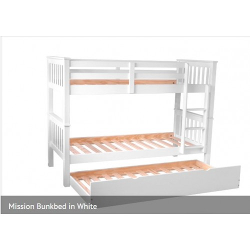 Mission Bunkbed In White