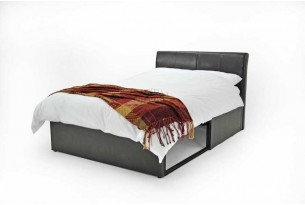 Storage Bed  Faux Leather