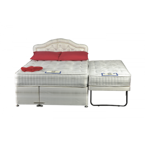 Zurich double with guest single for Low single divan bed